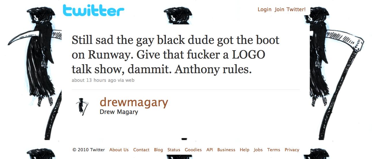 drews twitter